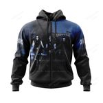 IMMO500 Zip Hoodie - Sons of Northern Darkness - Personalized Your Name