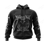 IMMO600 Zip Hoodie - Northern Chaos Gods - Personalized Your Name