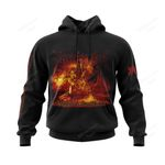 IMMO300 Hoodie - Damned in Black - Personalized Your Name