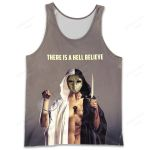 BMTO400 Tank Top - There Is a Hell Believe - Personalized Your Name