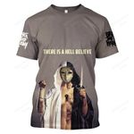 BMTO400 T-Shirt - There Is a Hell Believe - Personalized Your Name