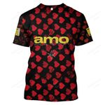 BMTO200 T-Shirt - Amo - Personalized Your Name