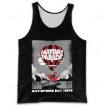 MAPA300 Tank Top - Anywhere but Here - Personalized Your Name