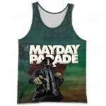 MAPA500 Tank Top - Mayday Parade - Personalized Your Name