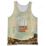 A8BR700 Tank Top - Found in Far Away Places - Personalized Your Name