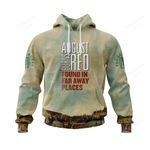 A8BR700 Hoodie - Found in Far Away Places - Personalized Your Name