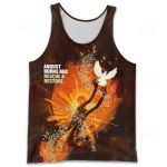 A8BR800 Tank Top - Rescue & Restore - Personalized Your Name