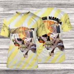 A8BR500 T-Shirt - Thrill Seeker - Personalized Your Name