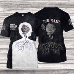 A8BR600 T-Shirt - Phantom Anthem - Personalized Your Name