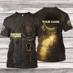 MAPA600 T-Shirt - Monsters in the Closet - Personalized Your Name