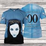 """EVAN200 - """"Fallen"""" T-Shirt - Personalized Name & Number"""