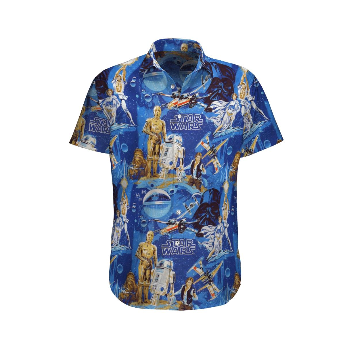 Star wars C-3PO See-Threepio Hawaiian Shirt