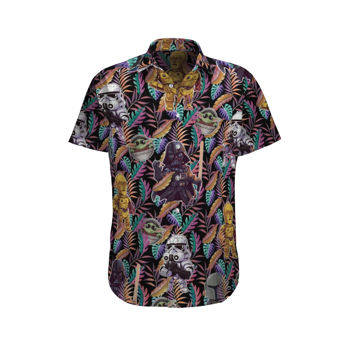 Star wars All characters in paradigm Hawaiian Shirt