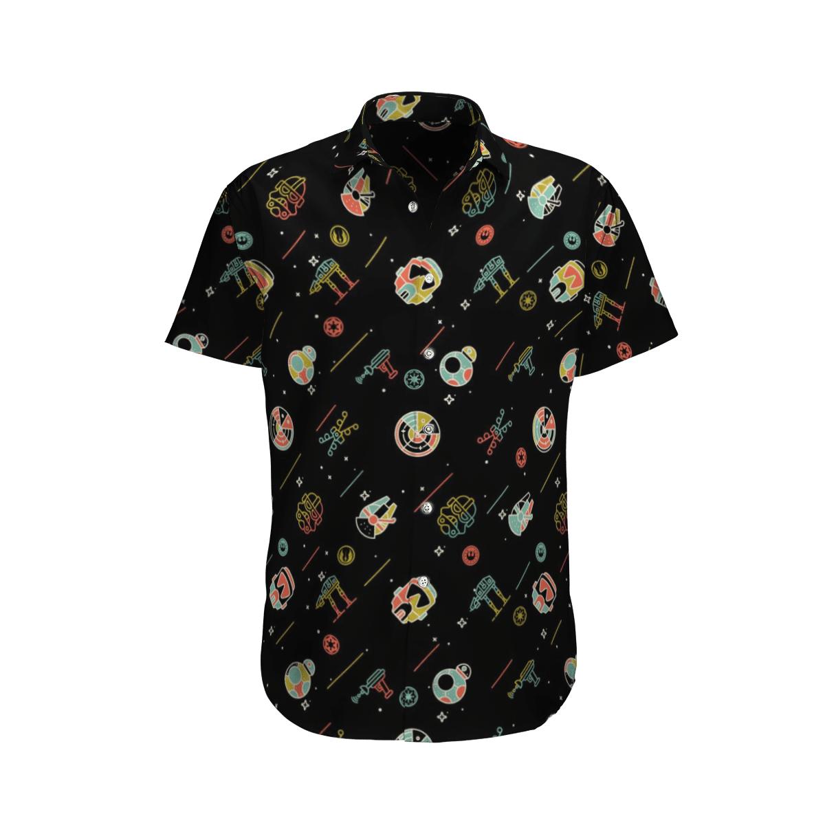 Star wars Small Animation Paradigm Hawaiian shirt