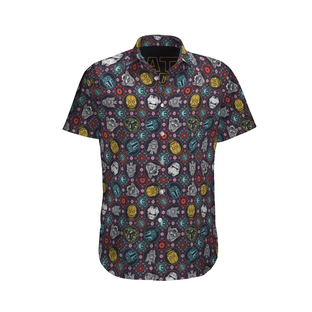Star wars Hawaiian Shirt Tongassf VS1