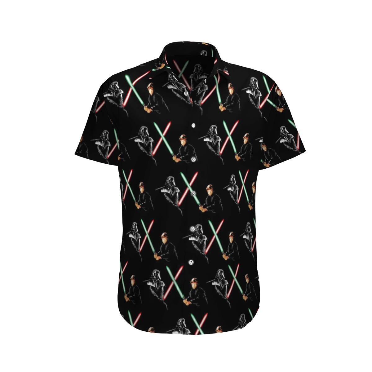 Star wars Darth Vade vs Kylo Ren Hawaiian Shirt