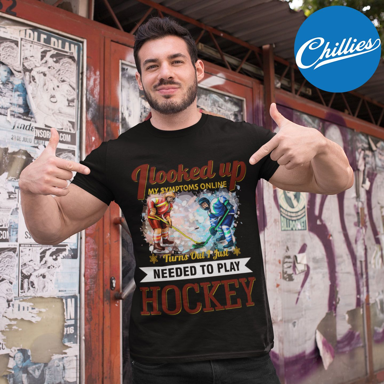 Hockey Symptom Premium Unisex T-Shirt