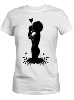 Black Women Art - Mom To Daughter I Love You Go To The Moon And Back