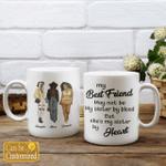 Personalized Mug My Best Friend May Not Be  (3 Besties)