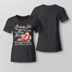 I Am January Girl Clothing - She Slays She Prays _ She Is Beautiful Bold 2 Clothing