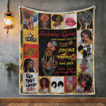 Black Girls Are Born In September Queens Quilt