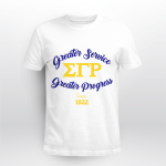Sigma Gamma Rho 1922 Greater Service Greater Progress