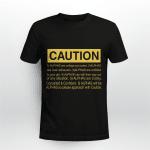 Caution Alpha Phi Alpha 1906 Denfinition - Shirt