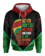 Juneteenth Black Girl All Over Apparel