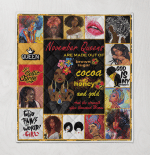 Black Girl Art November Queens Quilt