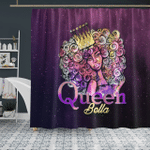 Black Woman - Black Queen Bella - Shower Curtain