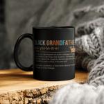 Black Grandfather Definition Mug