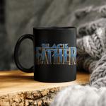 Black Father Font Panther Mug