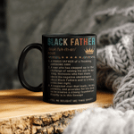 Black Father Of A Freaking Awesome Son Mug