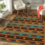 African Pattern Area Rug