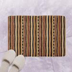 African Pattern Bath Mat