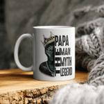 Fanther Papa The Man Myth Legend Mug