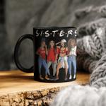 Black Women Sister Friends Delta Sigma Theta Mug