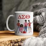 Black Women Friends Delta Sigma Theta Mug