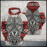 Wolf Zentangle Native Pattern TCCL12111431 Hoodie Ultra Soft and Warm