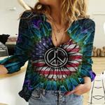 Hippie Native BO43 TTH220198 Cotton And Linen Casual Shirt