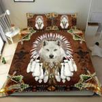 Premium Unique Wolf Bedding Set Ultra Soft and Warm LTANT270317DS