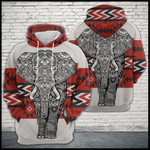 Elephant Zentangle Native Pattern TCCL12111425 Hoodie Ultra Soft and Warm
