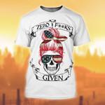 Premium Unique Skull Girl T-shirt TVN180803 | Monlovi