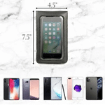 BagGeri – Touch Screen Waterproof Leather Crossbody Phone Bag for iPhone, Galaxy & Other