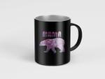 Mama Bear Floral- Cute Mama Bear Floral Mugs