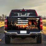 Wildland Firefighter Truck Tailgate Decal Sticker Wrap