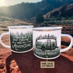 Personalized Camping Forest You Are My Home Customized Campfire Mug