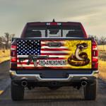 2nd Amendment Truck Tailgate Decal Sticker Wrap
