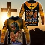Premium Christian Jesus 3D All Over Printed Mother's Day Father's Camping Hunting Birthdat Gift Idea With Hight Quality