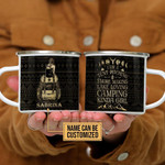Personalized Camping Kinda Girl Customized Campfire Mug